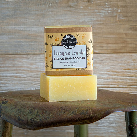 Lemongrass Lavender Shampoo Bar